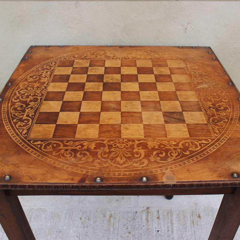 Four Leg Chess Table 2