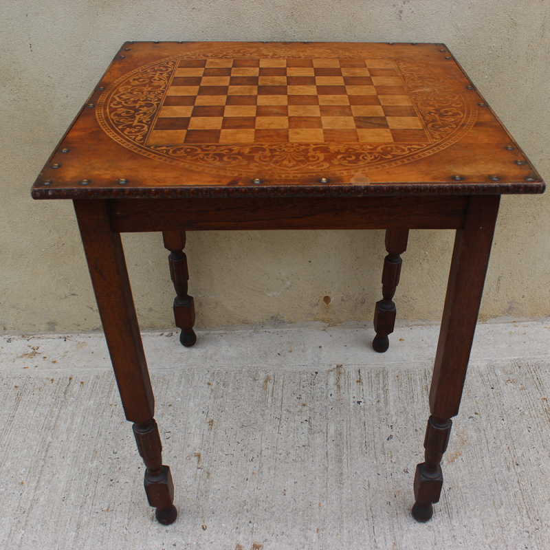 Four Leg Chess Table