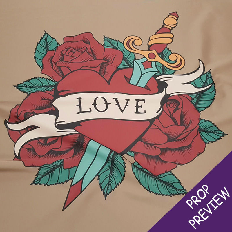 Love Heart Tattoo Banner 1