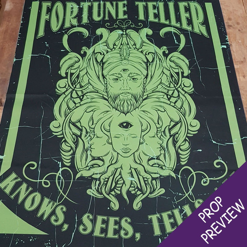 Fortune Teller Canvas Poster