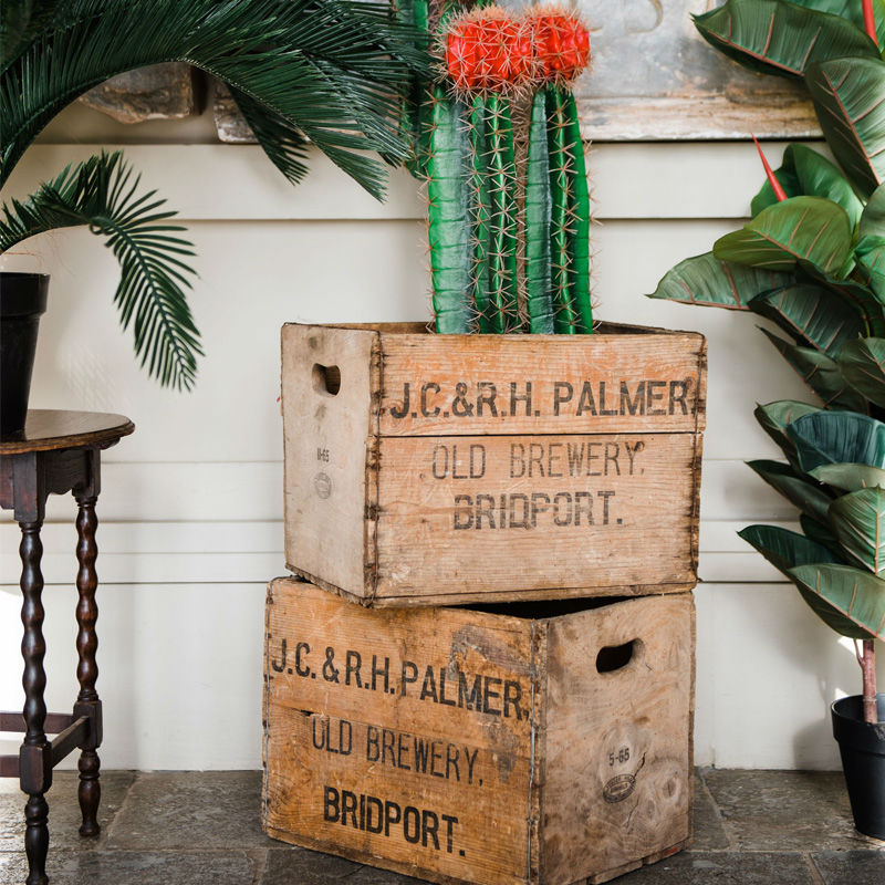 Vintage Wooden Drinks Crate 3