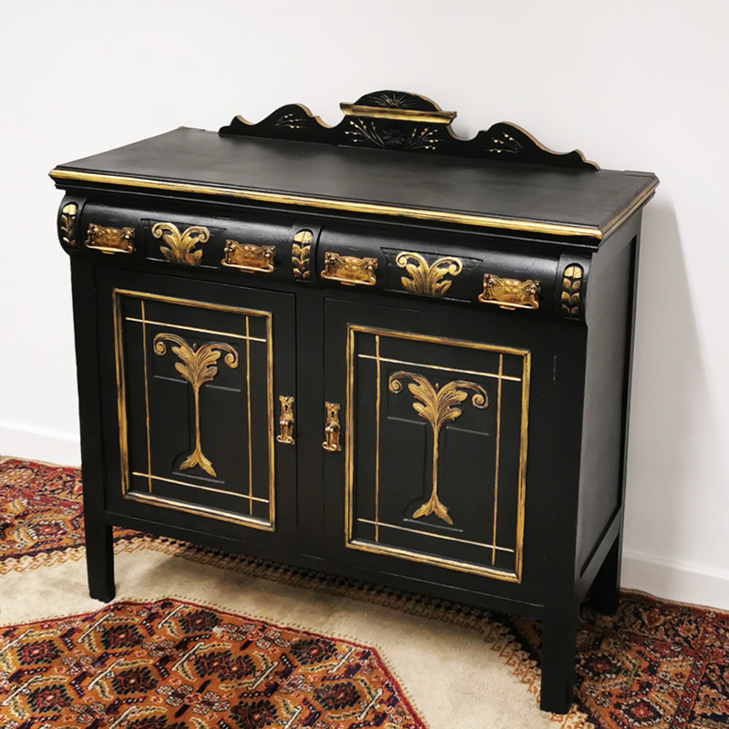 Black & Gold Sideboard 2