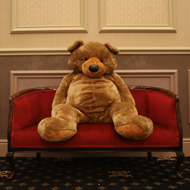 Giant Brown Teddy Bear 1
