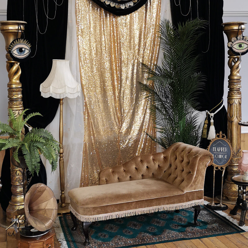 Gold Floor Lamp Prop Only 3