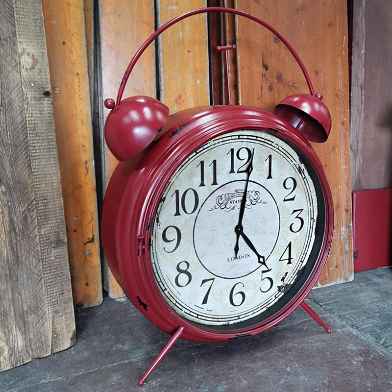 Giant Red Alarm Clock 2