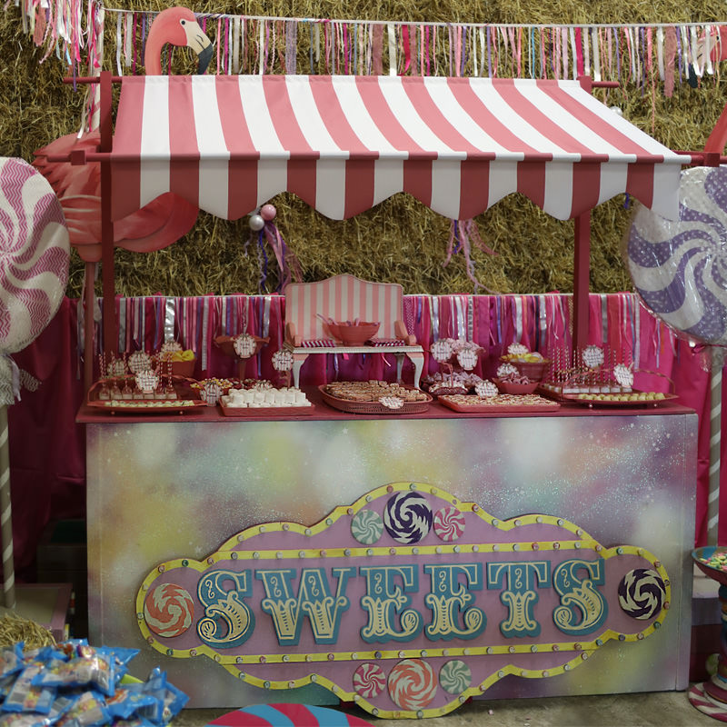 Freestanding Sweets Sign 3