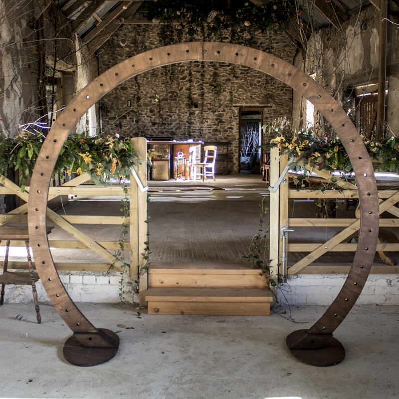 Circle Arch for DIY Decoration 2