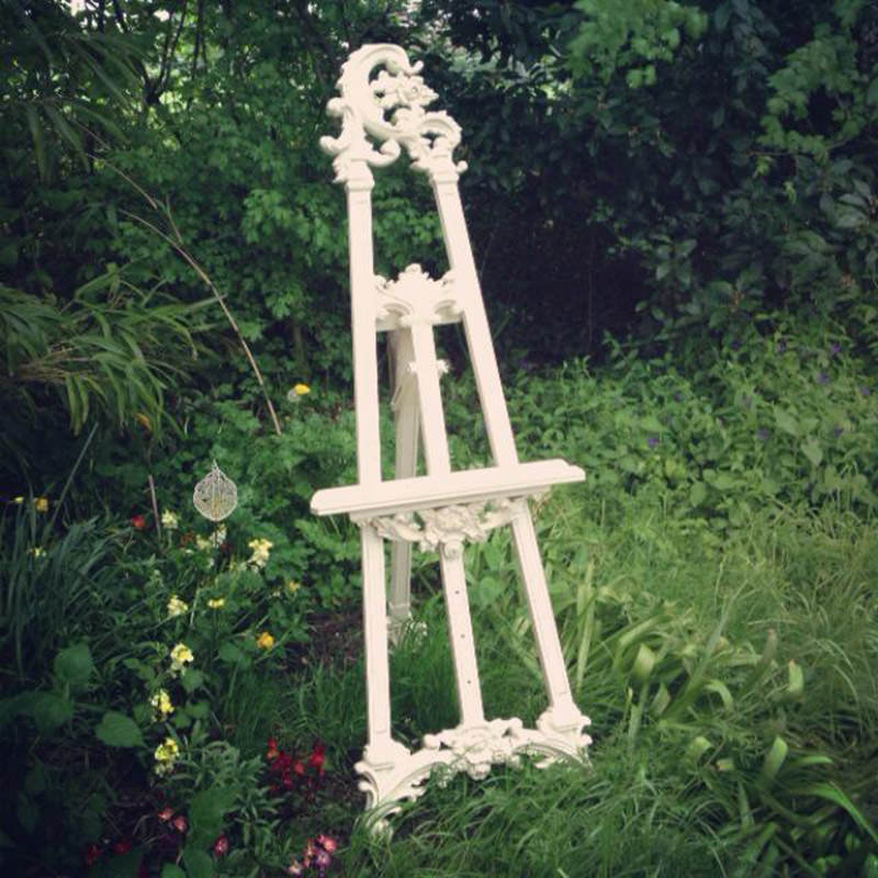 Cream Ornate Easel