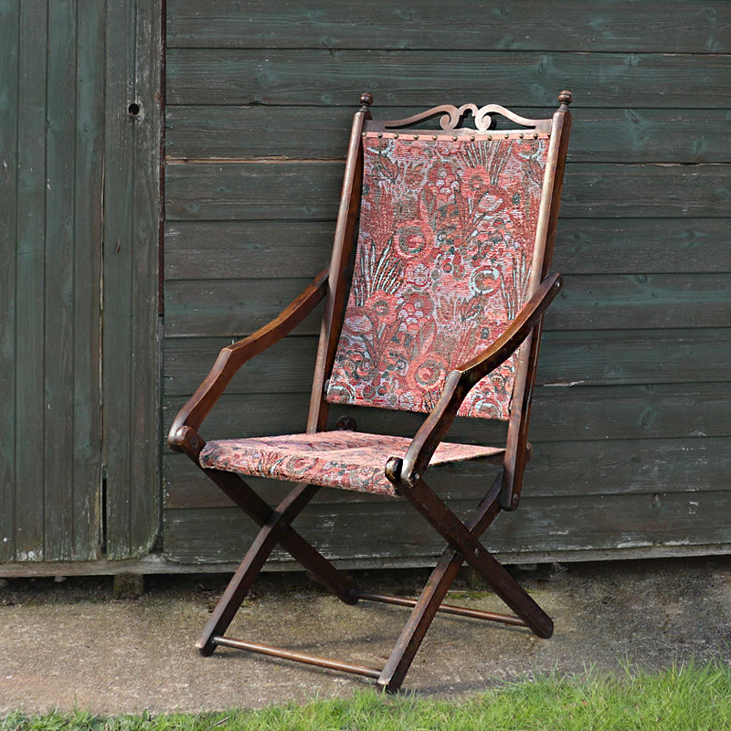 Edwardian Carpet Deckchair