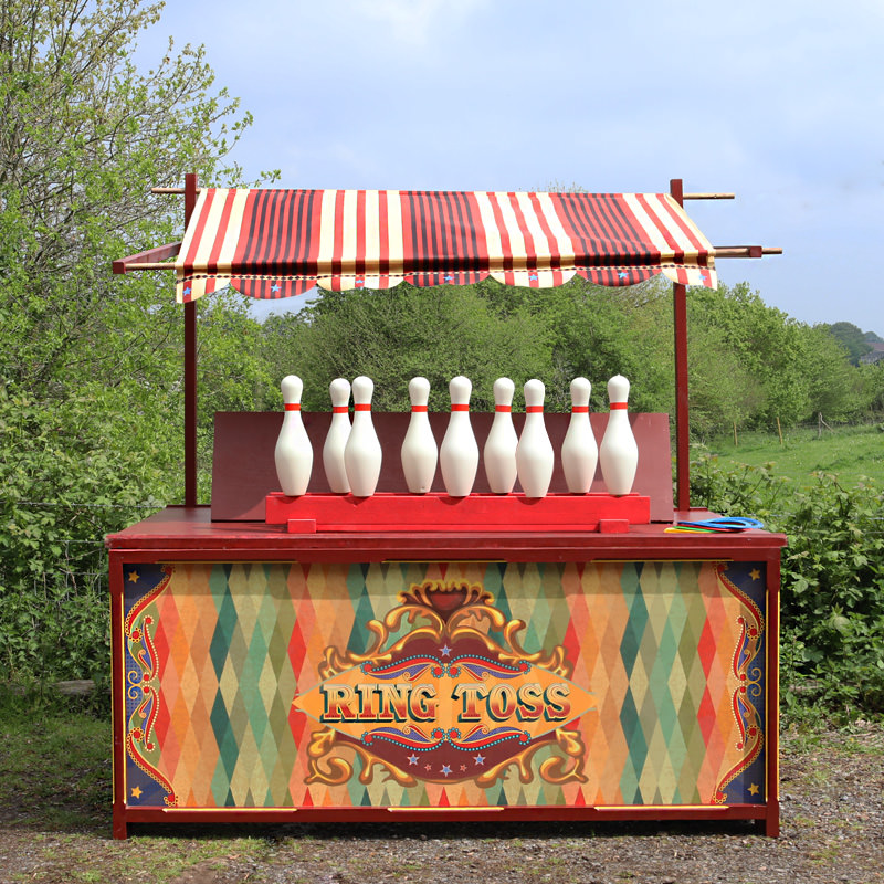 Edwardian Style Ring Toss Stall 1