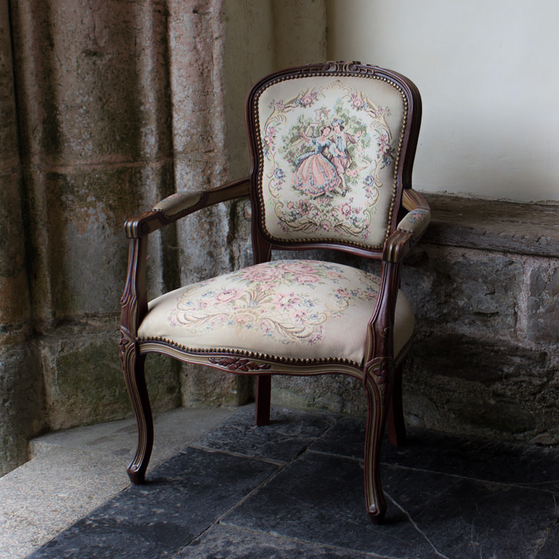 Carver Tapestry Chair