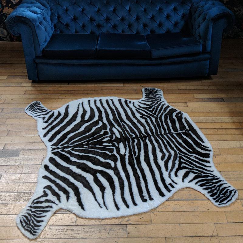 Zebra Rug Faux: A-Z Listing