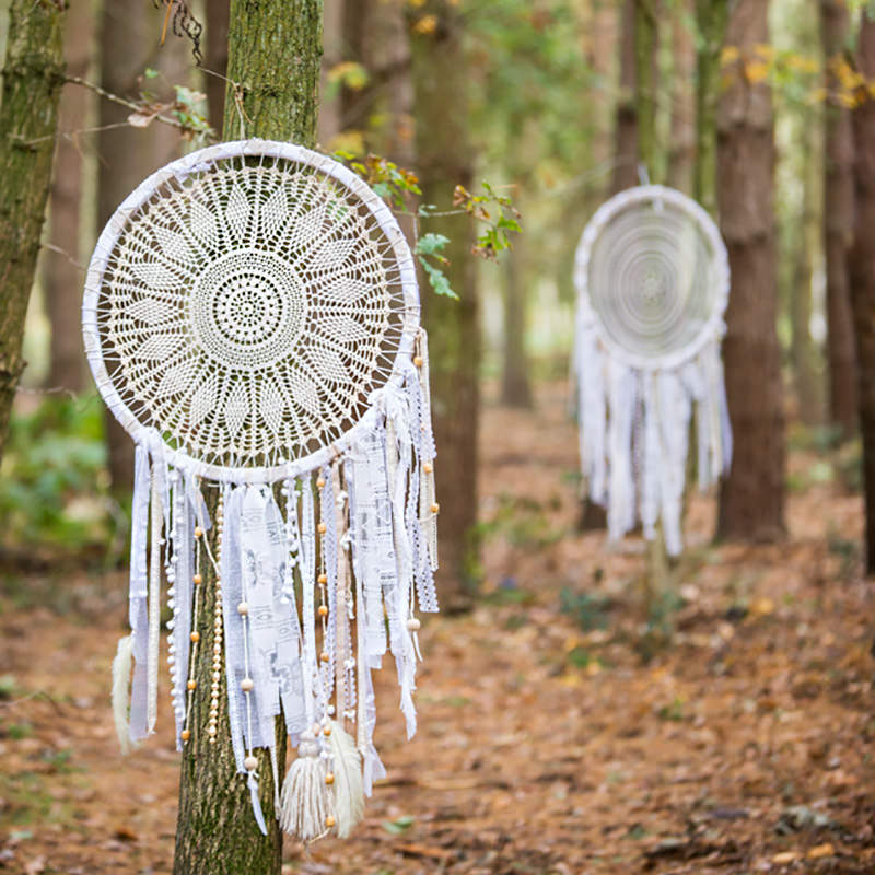Giant Boho Dreamcatcher