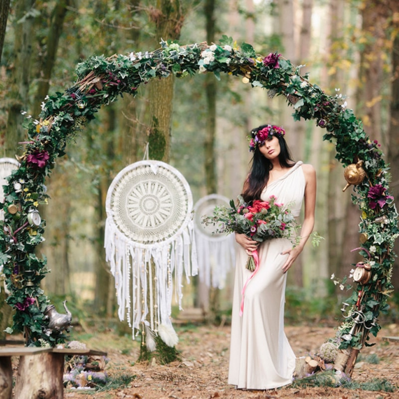 Giant Boho Dreamcatcher  3