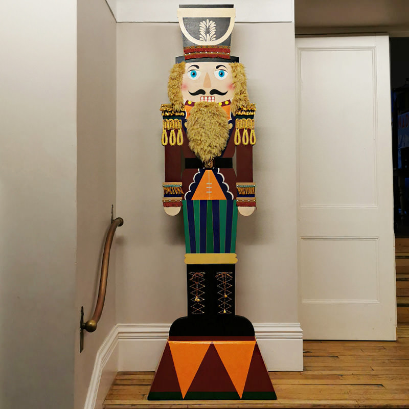 Giant Wooden 8ft Nutcracker Cutout