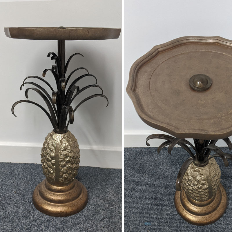 Gold Pineapple Table