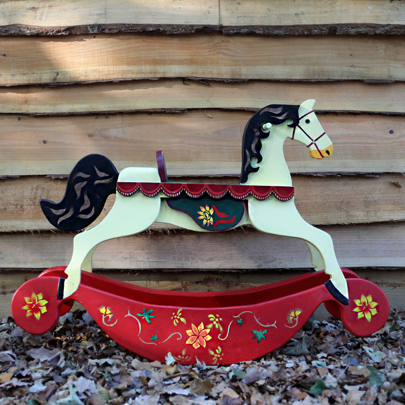 Traditional Rocking Horse Prop Small