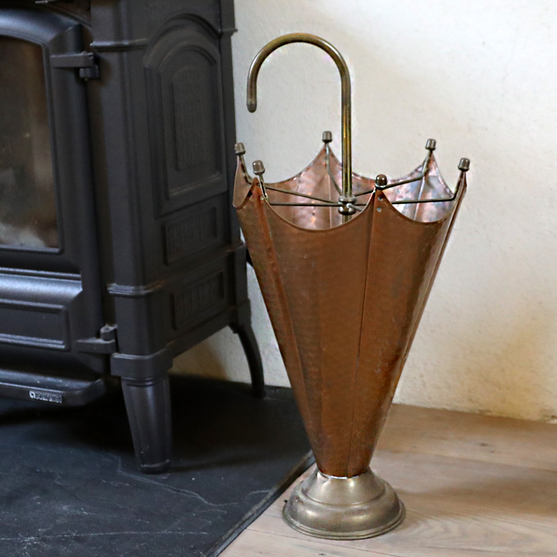 Copper Umbrella Stand