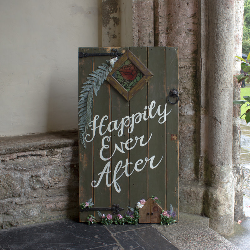 Happily Ever After Mini Fairy Tale Door