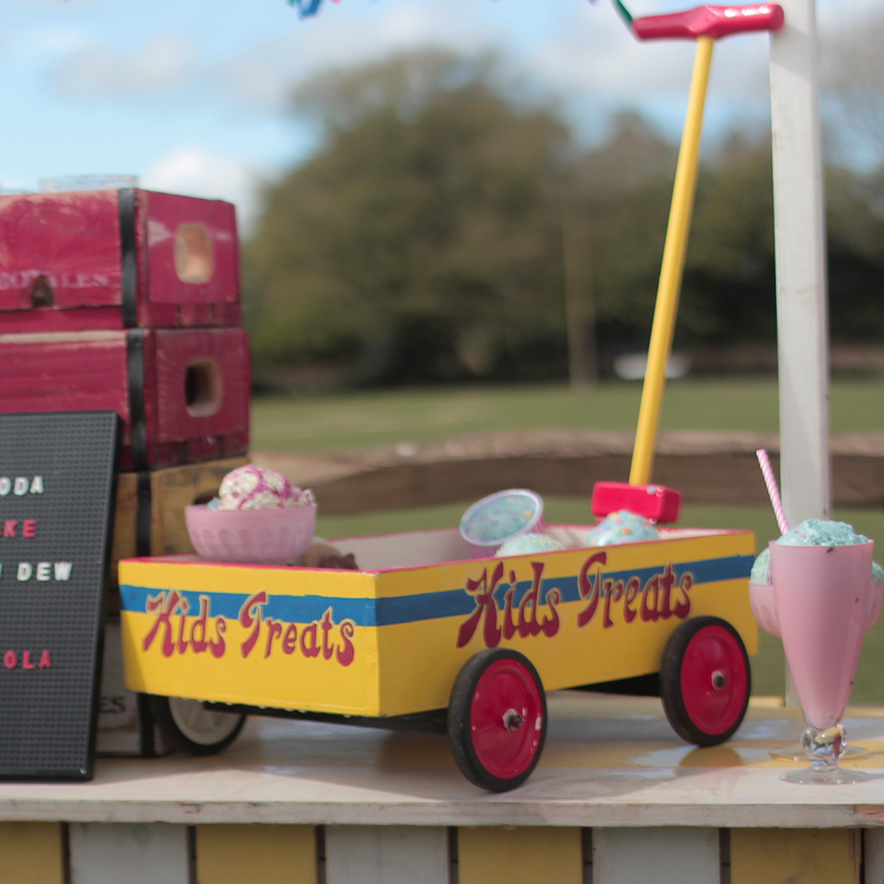 Small Kids Treats Wagon 1