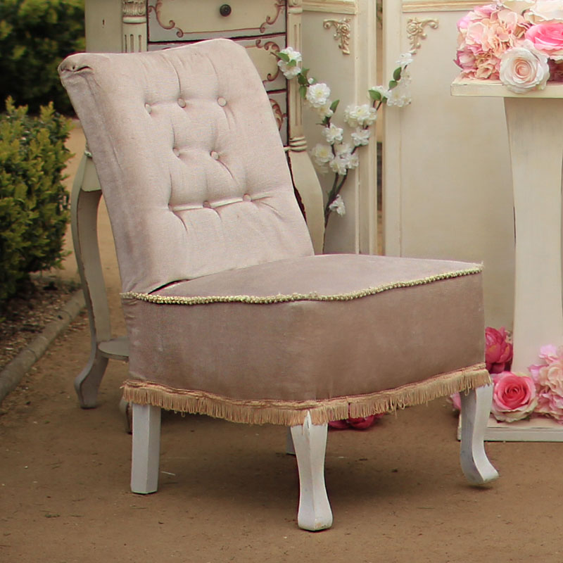 Very Pale Lilac Emily Nursing Chair 3