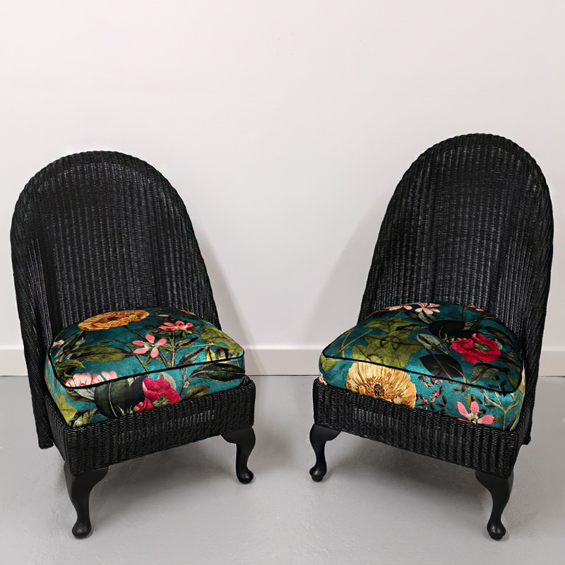 Lloyd Loom Chair as seen on BBC Money For Nothing 2