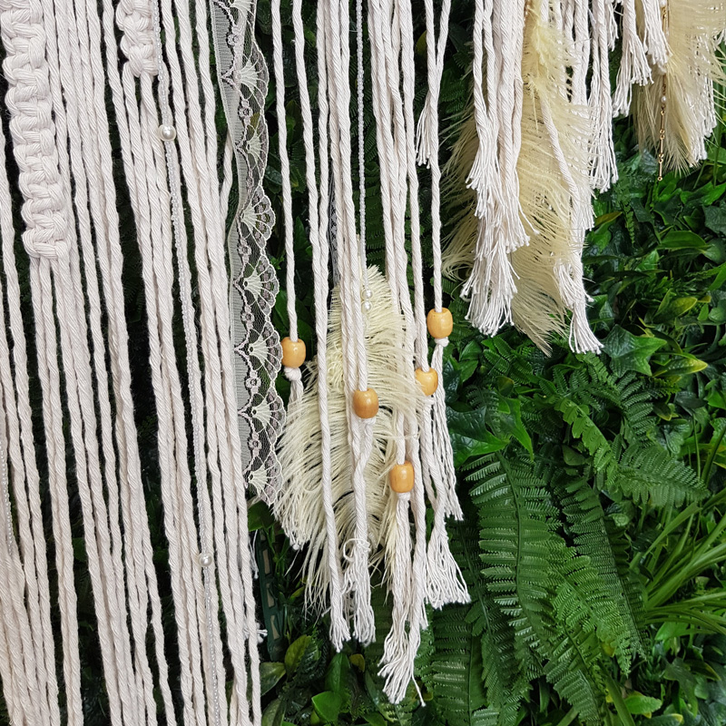 Macrame Hanging Backdrop 1.2m by 1.8m  2