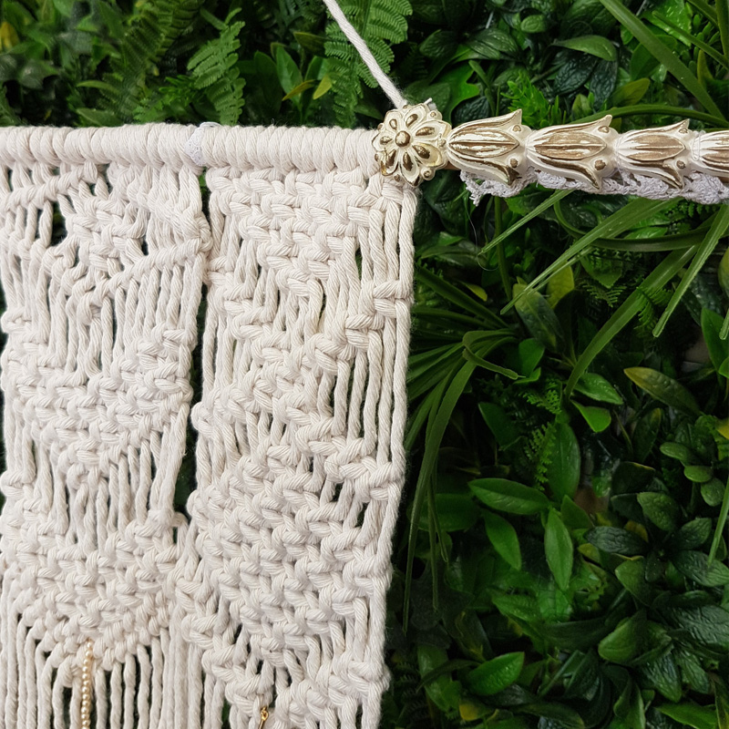 Macrame Hanging Backdrop 1.2m by 1.8m  3