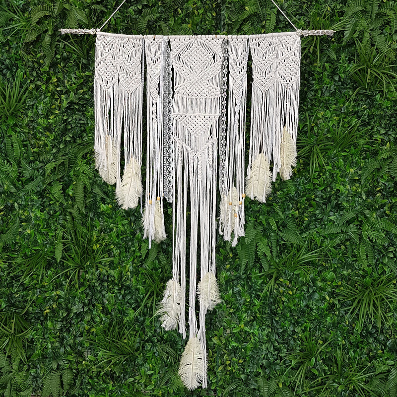 Macrame Hanging Backdrop 1.2m by 1.8m