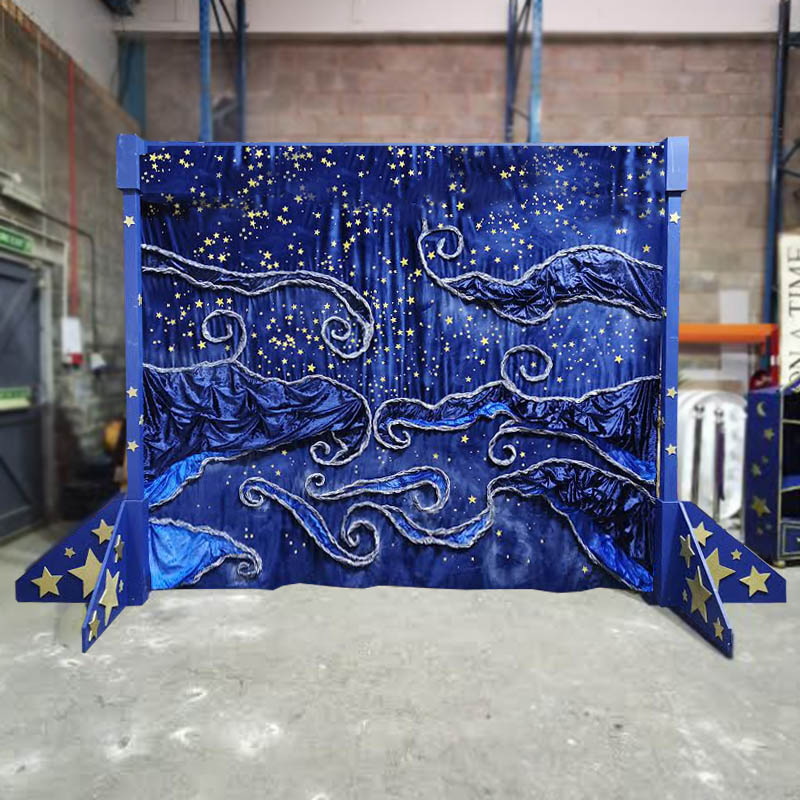 Midnight Stars Backdrop
