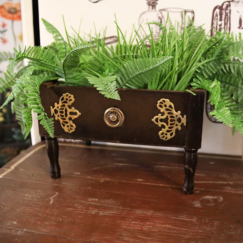 Wild Foliage Sewing Box 1