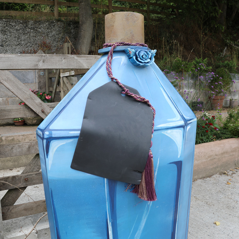 Giant Potion Bottle with Chalkboard Label 2