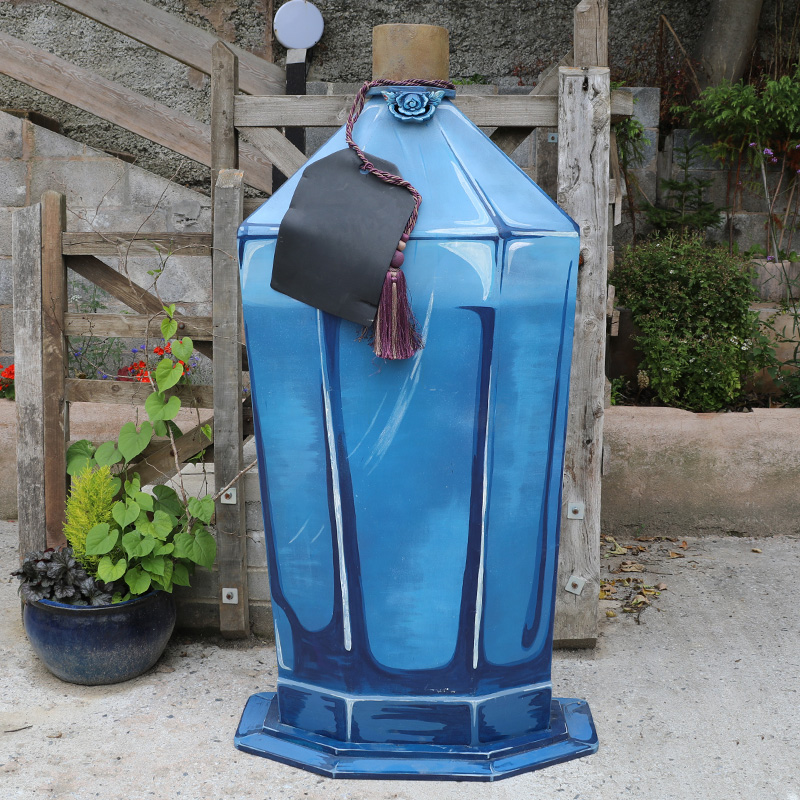 Giant Potion Bottle with Chalkboard Label