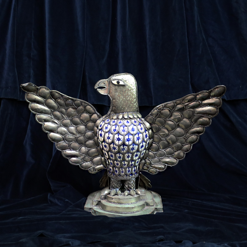 Moroccan Large Metal Crafted Eagle