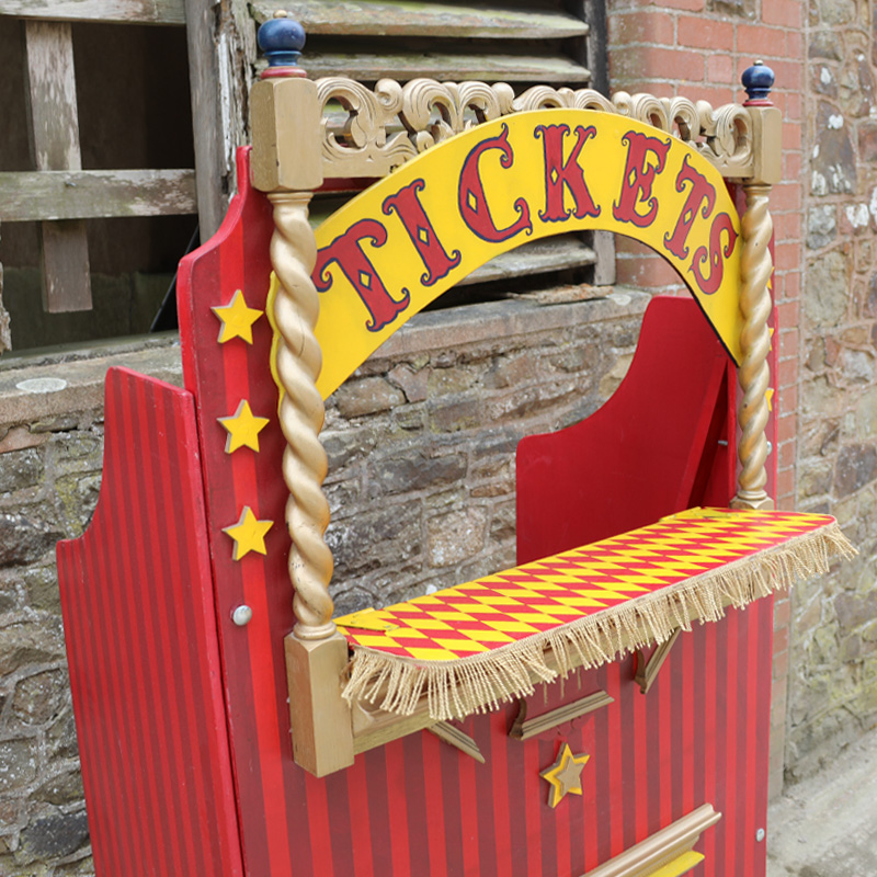 Vintage Ticket Booth 2