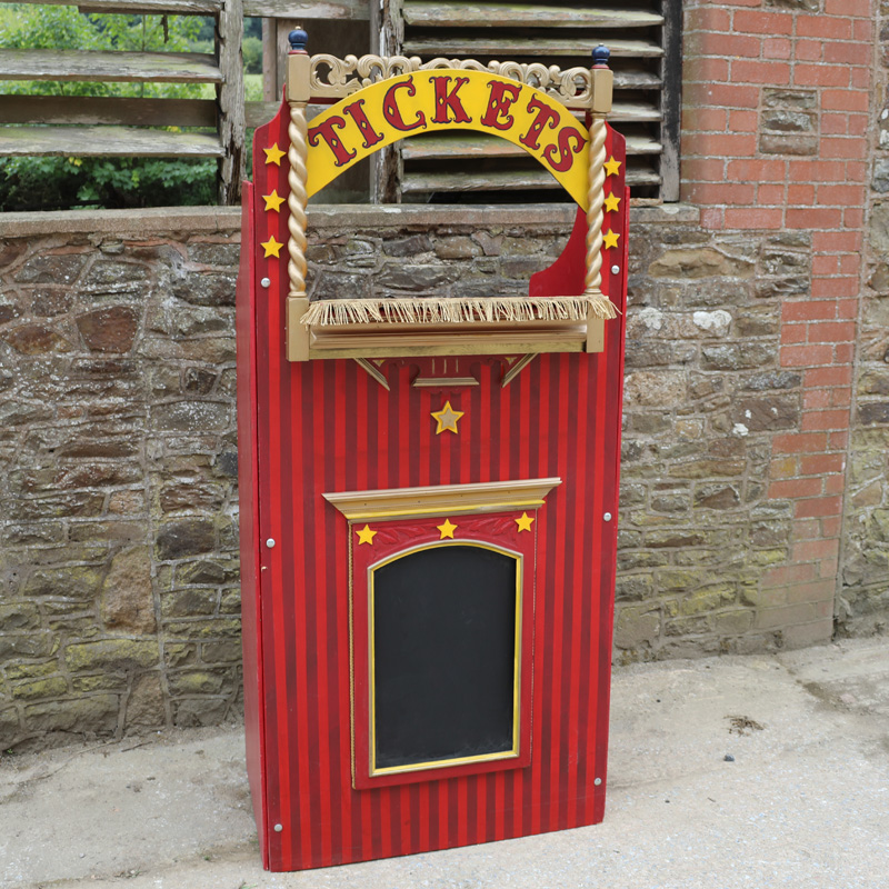 Vintage Ticket Booth 3