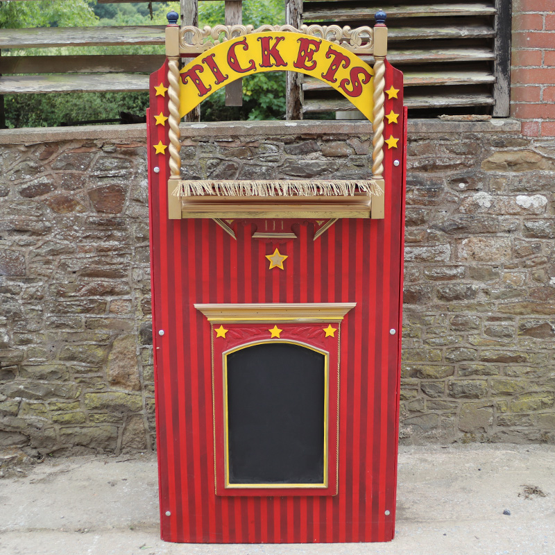Vintage Ticket Booth