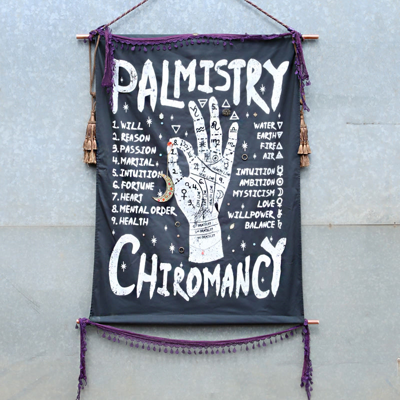 Palmistry Canvas Poster 1