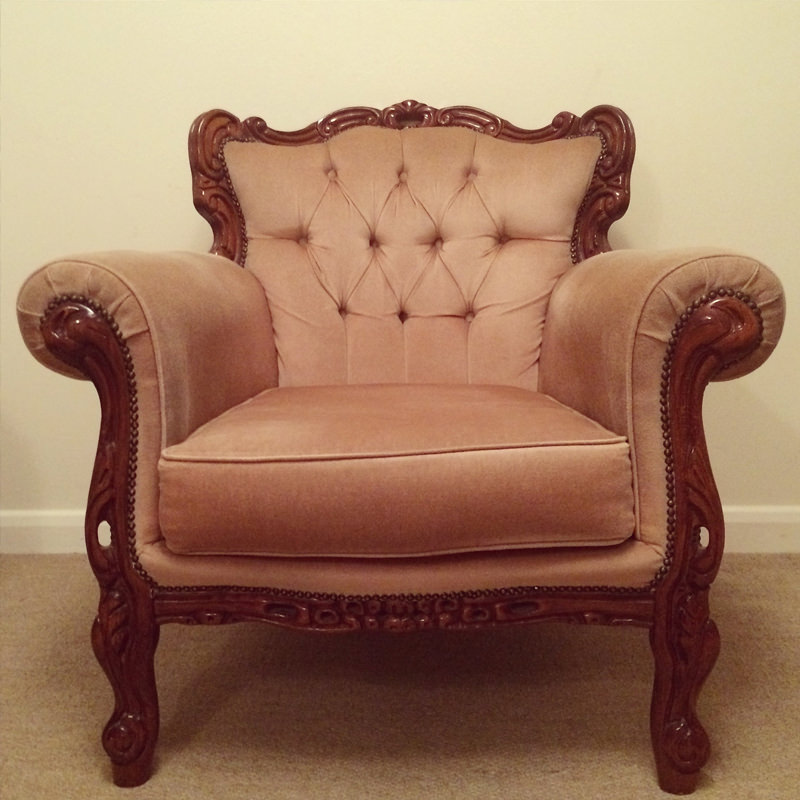 Champagne Emily Armchair