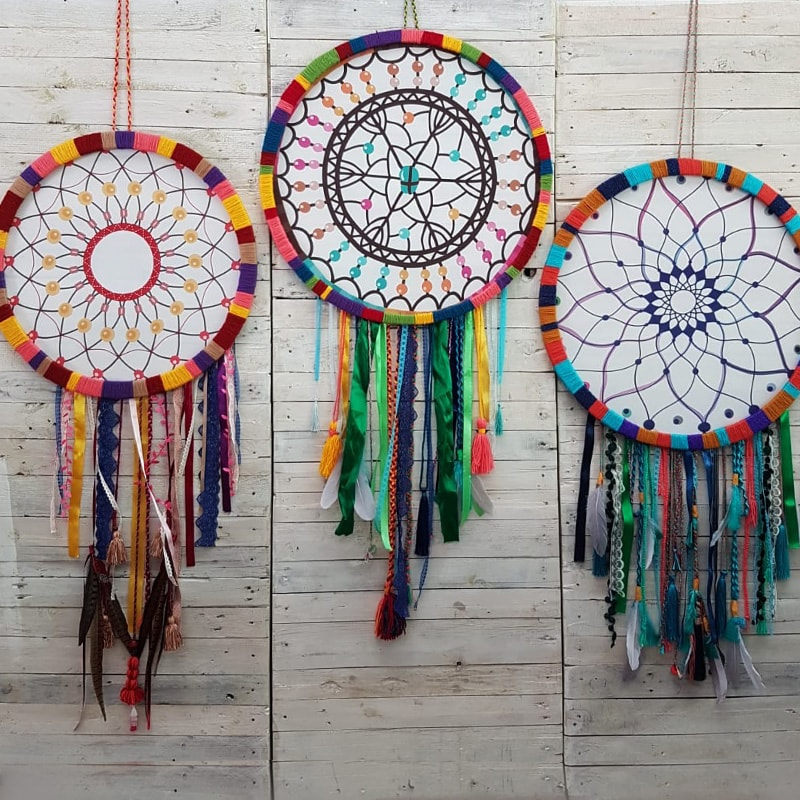 Giant Colourful Dreamcatcher 2