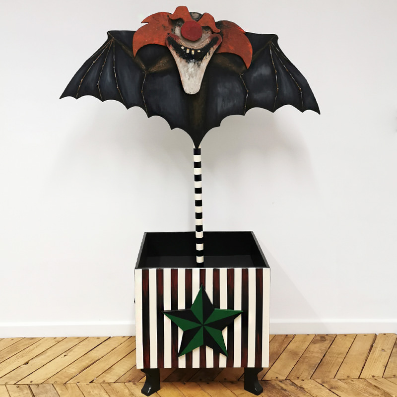 Scary Clown Bat Sweet Holder