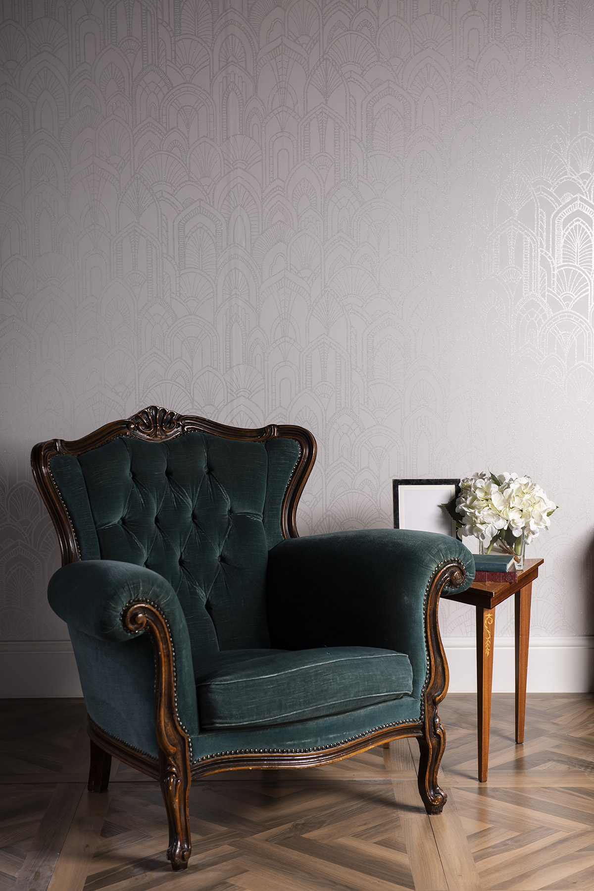 Sea Blue Emily Armchair 2