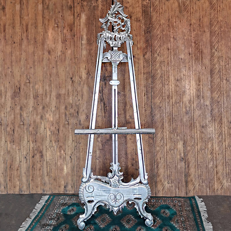 Silver Ornate Easel