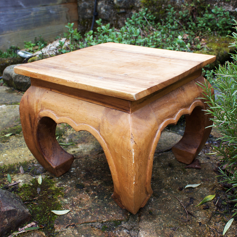 Very Short Woodland Table