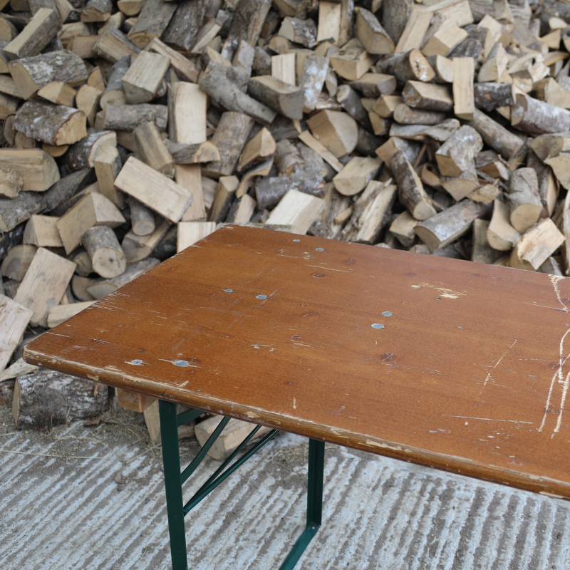 Dark Brown and Green Rustic Woodland Table 2