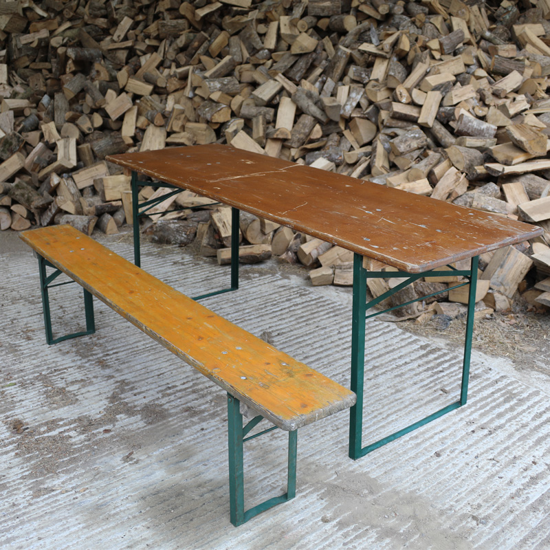 Dark Brown and Green Rustic Woodland Table 3