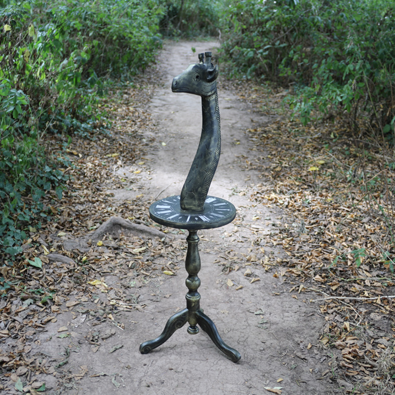 Tremendously Impractical Giraffe Table