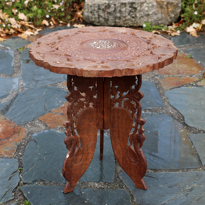 Indian Ornate Side Table