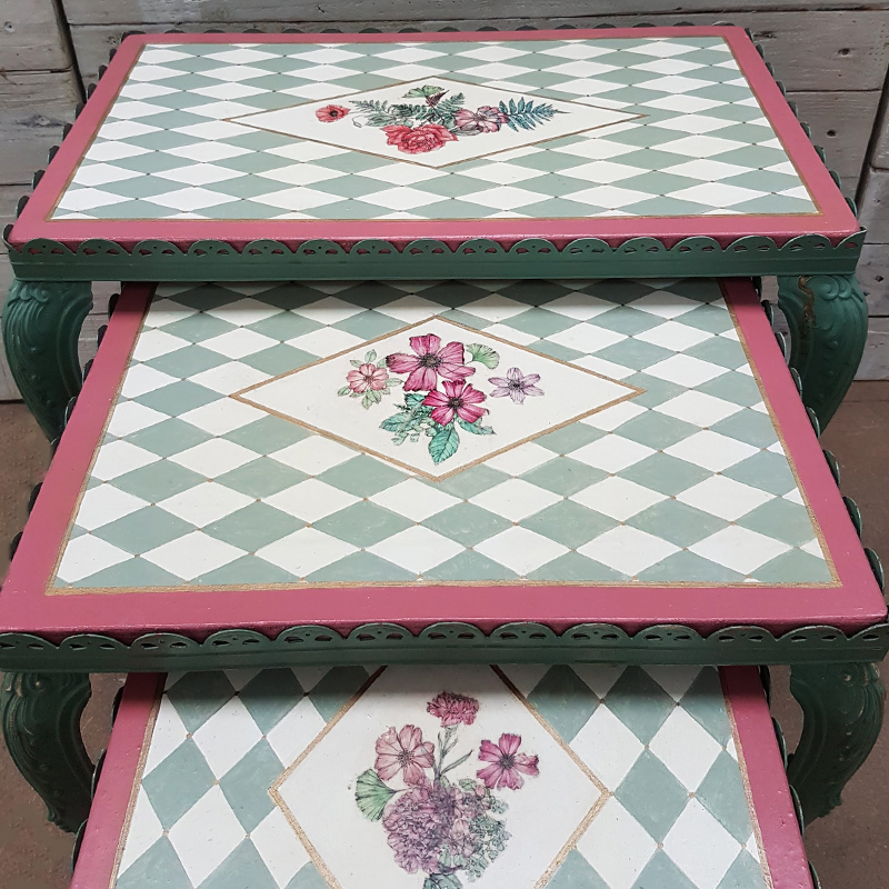 Victorian Summer Table Trio