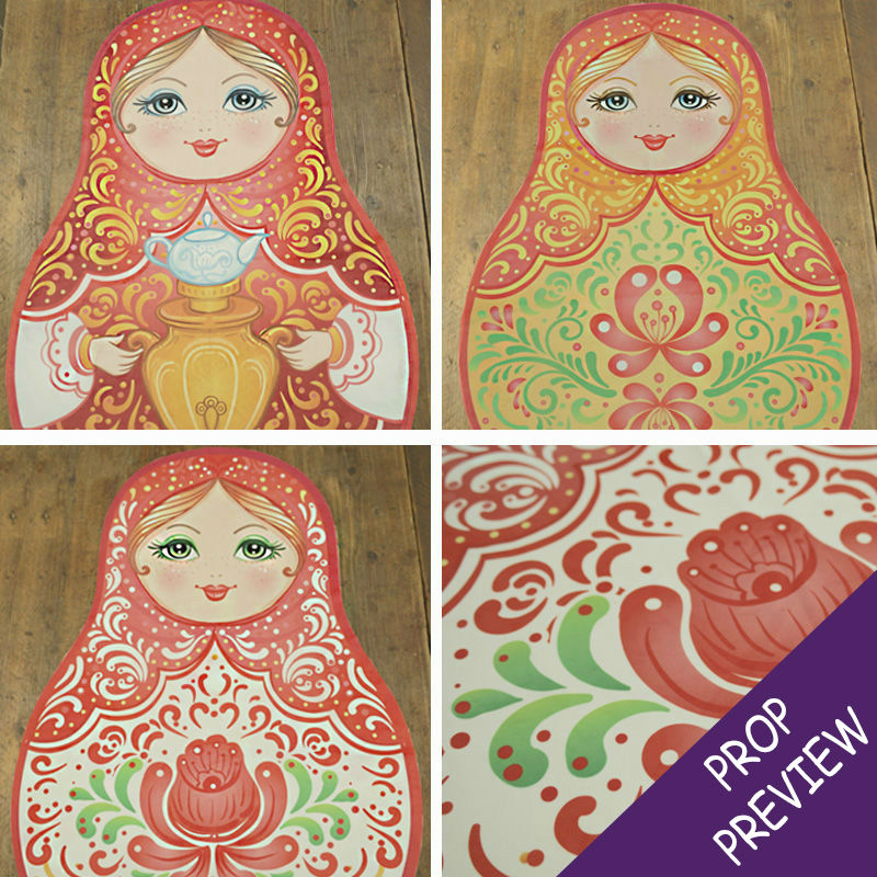 Large Russian Doll Cushion